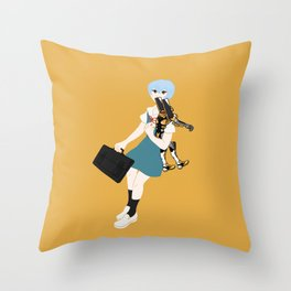 00 Rei Ayanami Throw Pillow