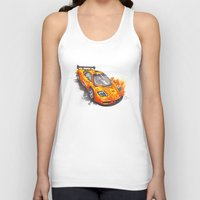 f1 Tank Tops featuring McLaren F1  by Claeys Jelle Automotive Artwork