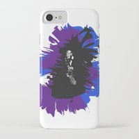 saxophone iPhone & iPod Cases featuring Saxophone Jive by Aaron Gonzalez