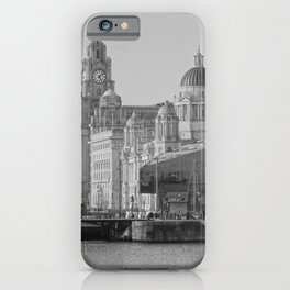 Three Graces Liverpool iPhone Case