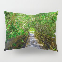 Path under the Tree Canopy Pillow Sham