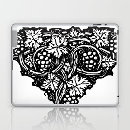 A Tailpiece of Grape Vines Laptop & iPad Skin