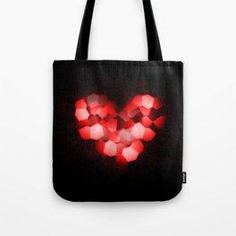 Digital Love Tote Bag