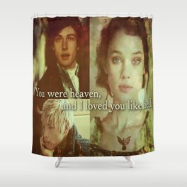 Will, Jem and Tessa Shower Curtain