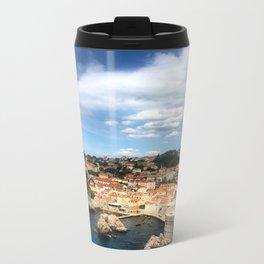 The Old City of Dobrovnik, Croatia Metal Travel Mug