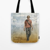 charlie Tote Bags featuring Charlie by Jackie Sullivan