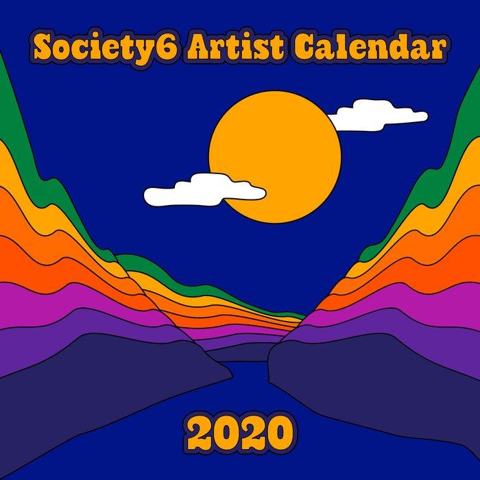 2020 Artist Calendar / Wall Edition Calendar