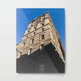 Edinburgh Old Town Building - Architectural Photography Metal Print