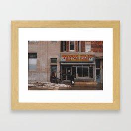 Nouveau Palais Framed Art Print