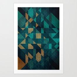 Shuffling Art Print
