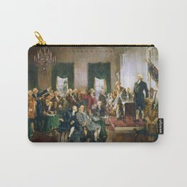 Signing of the United States Constitution 1787 Carry-All Pouch