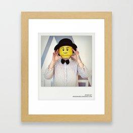 Minifig me ! – Everyone has a LEGO piece inside - 12 Framed Art Print