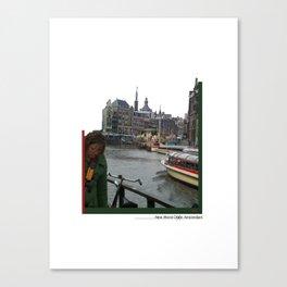 New World Amsterdam Canvas Print