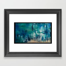 Forget your weakness_ Framed Art Print