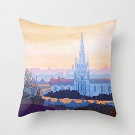 Norfolk England Throw Pillow