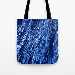 Electric Water Abstract ICM Tote Bag