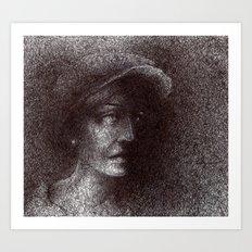 yalnızlık Art Print