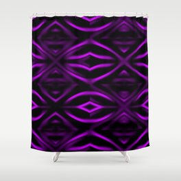 1207 Li-lac-lights ... Shower Curtain