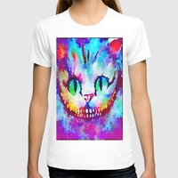 cheshire cat T-shirts featuring Cheshire Cat by Melanie Tassone Art
