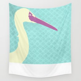 Crane Wall Tapestry