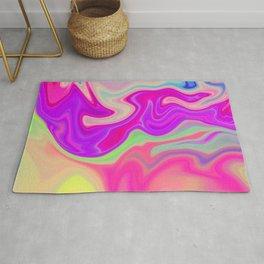 Colored Swirls 05 Rug