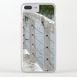 Landscape | Canada | Sand Dunes Boardwalk Clear iPhone Case