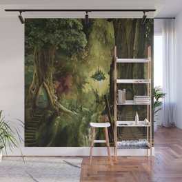Deep In The forest Wall Mural