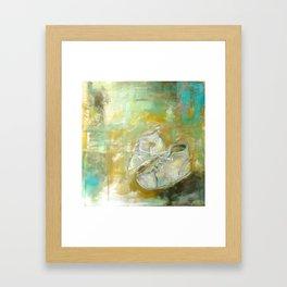 Booties Framed Art Print