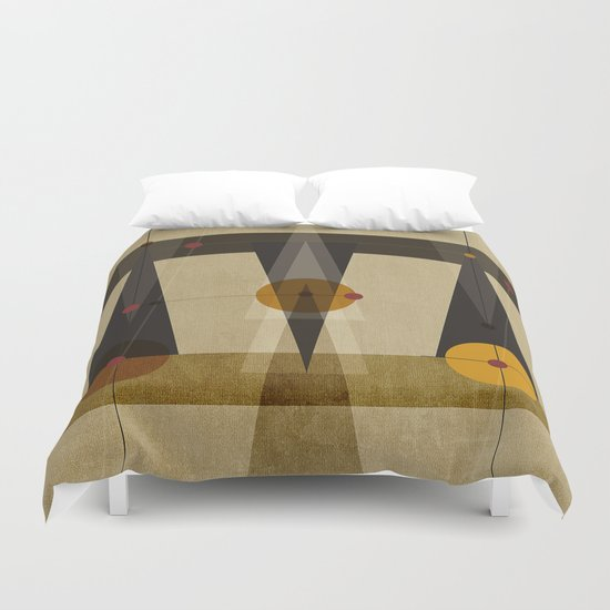Geometric/Abstract 2 Duvet Cover