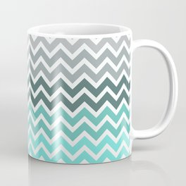 Tiffany Fade Chevron Pattern Coffee Mug