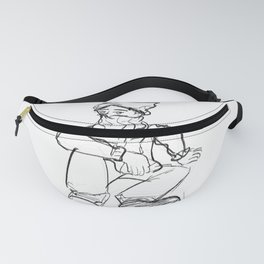 SWAG GAG YOUNG MAN standard Fanny Pack