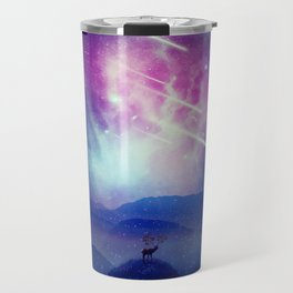 Majestic Cosmic Guardian Travel Mug
