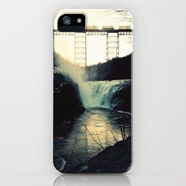 trestle dusk iPhone Case