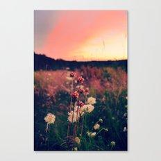 A Walk at Dusk Canvas Print