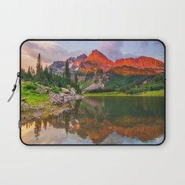 Rocky Mountain Glow Laptop Sleeve