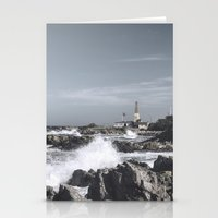 religious Stationery Cards featuring The wild sea by UtArt