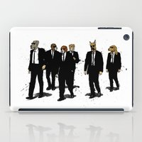 reservoir dogs iPad Cases featuring Reservoir Dawgs by David Procter