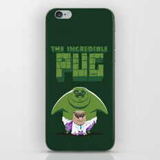 The Incredible Pug iPhone & iPod Skin
