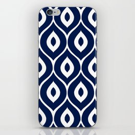 Leela Navy iPhone Skin