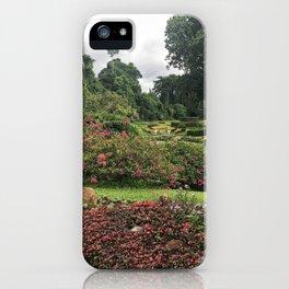 Stormy Garden iPhone Case