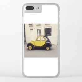 Citroen jaune Clear iPhone Case
