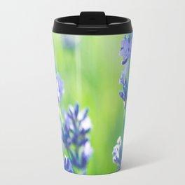 lavanda al atardecer en la Provenza Travel Mug