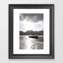 Boat II Framed Art Print