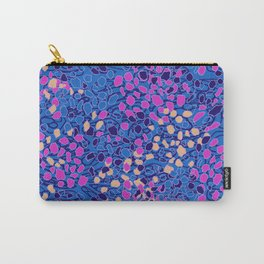 STONE PEBBLE - BLUE Carry-All Pouch