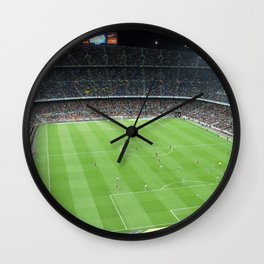 Camp Nou Crowded Wall Clock