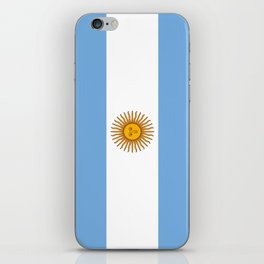 Flag of argentina -Argentine,Argentinian,Argentino,Buenos Aires,cordoba,Tago, Borges. iPhone Skin