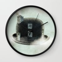 dreamer Wall Clocks featuring Dreamer by Eric Fan