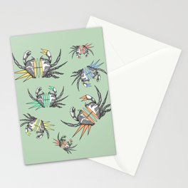 grab my crabs Stationery Cards