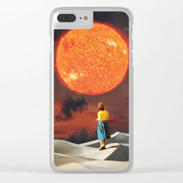 Your Heart Is The Sun Clear iPhone Case