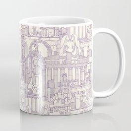Ancient Greece purple pearl Coffee Mug